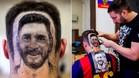 El serbio Mario Hvala, un artista en el corte de pelo