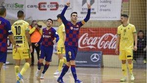 Sergio Lozano personalizó la remontada inicial de los blaugrana