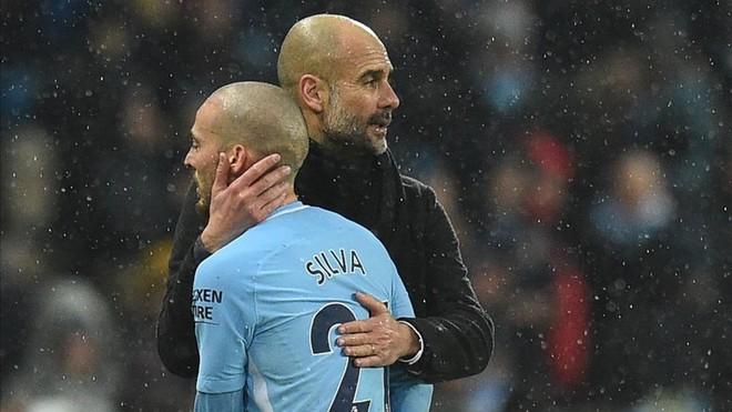 Silva agradece el apoyo de Guardiola tras el nacimiento prematuro de su hijo