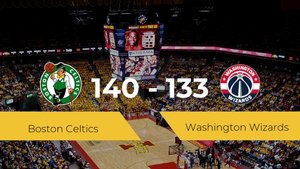 Triunfo de Boston Celtics en el TD Garden ante Washington Wizards por 140-133