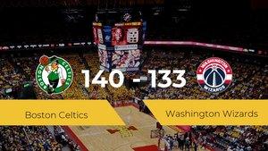 Triunfo de Boston Celtics en el TD Garden ante Washington Wizards por 140-133