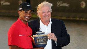 Trump quiere reconocer el éxito de Tiger en el último Masters, a sus 43 años