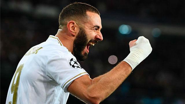 Una vez más, Benzema fue el mejor del Real Madrid