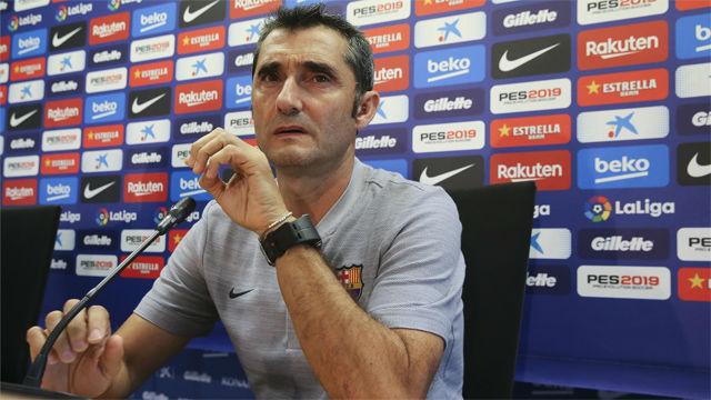 Valverde confirma que habrá cambios en el once titular en Anoeta