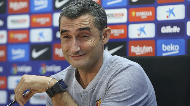 Valverde habló sobre su renovación