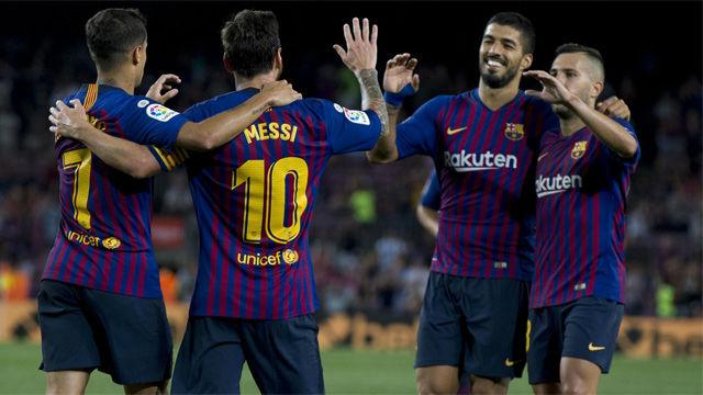 Vea el resumen y los goles del Barça-Alaves (3-0)