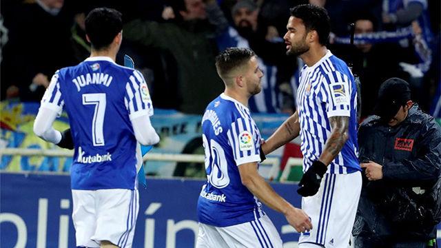 William José vuelve a lo grande con un gol para salvar un punto para la Real