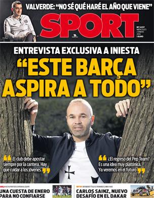 La Primera Frase Que Incendiara El Mundo Del Barca Sport