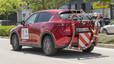 Uno de los Mazda CX-5 utilizados en el estudio del INSIA.