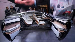 Vista del interior del nuevo Hyundai Auto Vision Concept