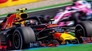 Verstappen lidera la segunda tanda de libres en Alemania