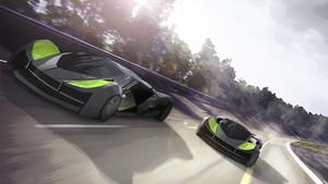 VERTIGO es la propuesta de Fabio Sánchez, un vehículo capaz de circular por tierra o aire.