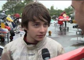 Leclerc, tras su pique con Verstappen en el karting, con 14 años