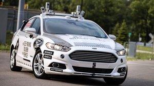 Ford Fusion autónomo.