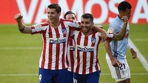La alegría de Morata en Vigo, justificada: gol a los 51 segundos de partido