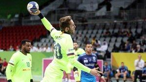 Aleix Gómez completó un gran partido y marcó seis goles