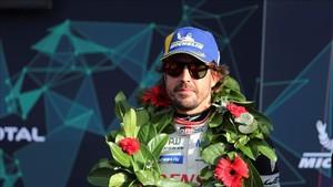 Alonso ganó en Silverstone pero después le quitaron el triunfo