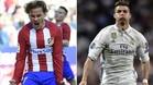 Antoine Griezmann y Cristiano Ronaldo tienen la pólvora mojada