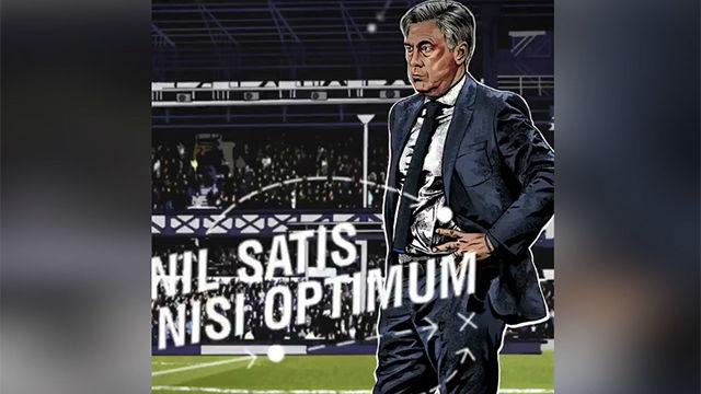 Así ha anunciado el Everton el fichaje de Ancelotti