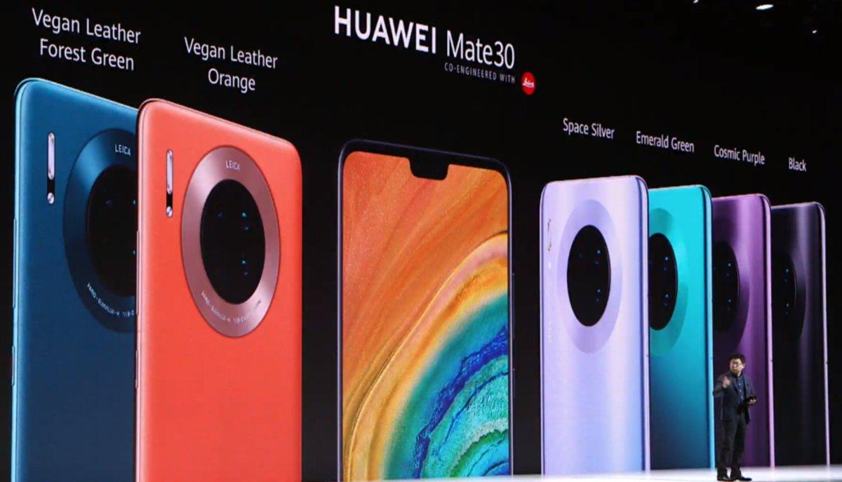 Presentado el nuevo Huawei Mate 30