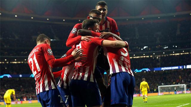 El Atlético se impone al Borussia y recupera sensaciones