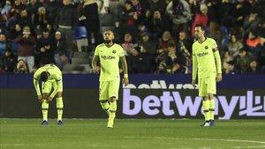 El Baça naufragó en un muy mal partido jugado en Valencia