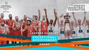 El baloncesto español, distinguido en los Laureus