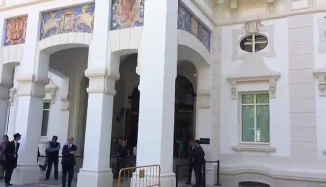 El Barça se instaló en el Hotel Miaramar, la antigua Audiencia Provincial de Málaga