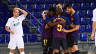 El Barça Lassa brilla y golea