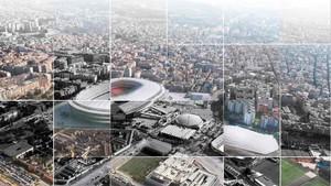 El Barcelona y el Ayuntamiento presentan el acuerdo por el Espai Barça
