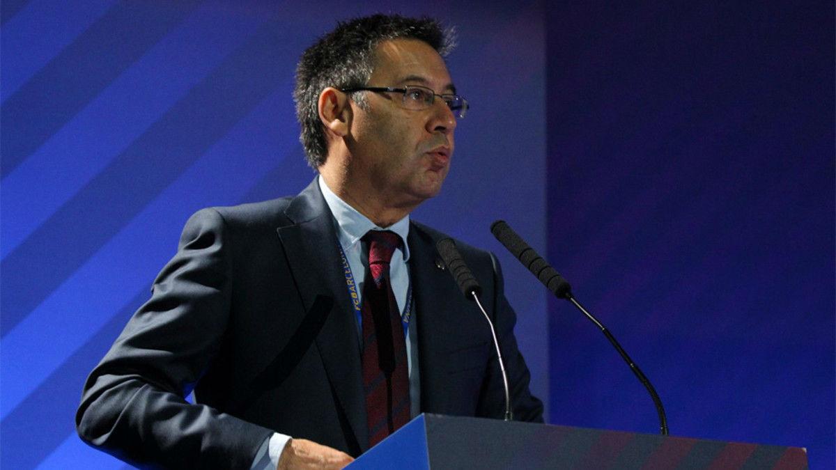 Bartomeu habla sobre la situación en Cataluña