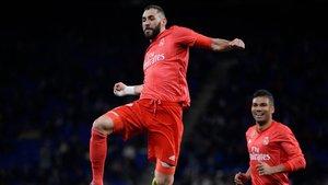 Benzema fue el gran protagonista del partido