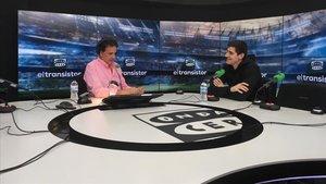 Courtois, entrevistado por José Ramón de la Morena en Onda Cero