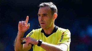 Cuadra Fernández ya es árbitro internacional