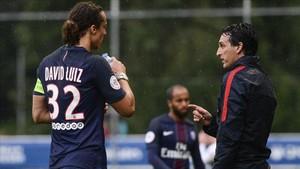 David Luiz temía que con Emery perdiera la titularidad en el PSG