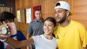 Después de ser el culebrón del verano, Neymar se encuentra concentrado con su selección