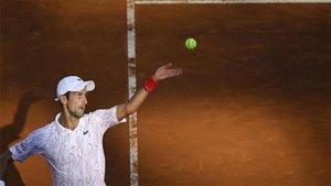 Djokovic quiere un título más en Roma