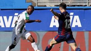 El Eibar fue superior en el encuentro ante el Leganés