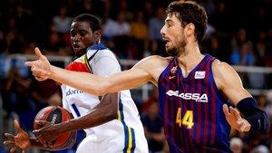 La energía que aporta Diagné, uno de los aspectos a controlar por el Barça