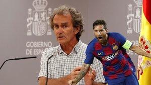 Fernando Simón, a un paso de ser el mayor referente para los niños, y cerca de Messi