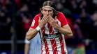 Filipe Luis desmintió la información sobre su interés en salir del Atlético