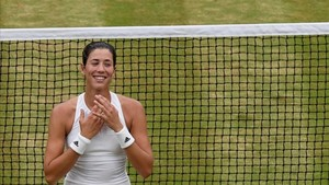 Garbiñe Muguruza quiere disfrutar de su éxito en Wimbledon