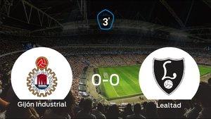 El Gijón Industrial y el Lealtad Villaviciosa se reparten los puntos tras su empate a cero