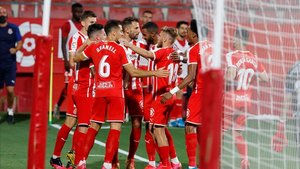 El Girona cerró la temporada con dos victorias, un empate y una derrota
