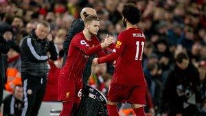 Harvey Elliot está llamado a tomar el relevo de Mohamed Salah en el Liverpool