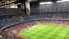 La imagen de LaTDP refleja la poca asistencia del Camp Nou