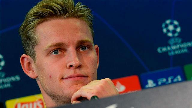De Jong no se arrepiente de haber fichado por el FC Barcelona