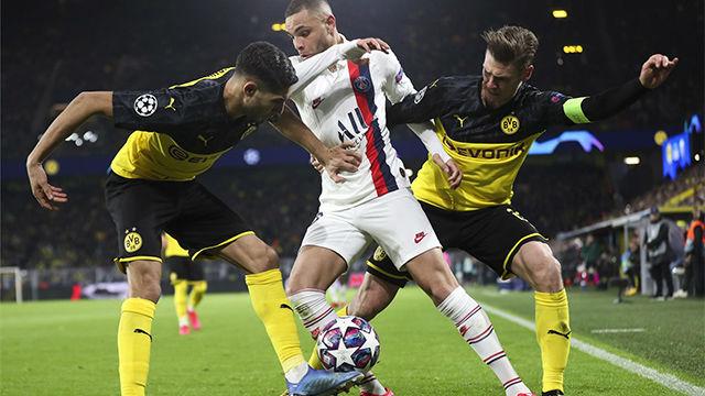 El jugadón de Kurzawa ante el Borussia Dortmund