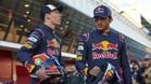 Kvyat y Sainz, en el Circuit de Barcelona