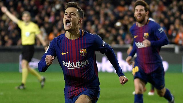 LACOPA | Valencia-Barça (0-2): El primer gol de Coutinho con el Barça